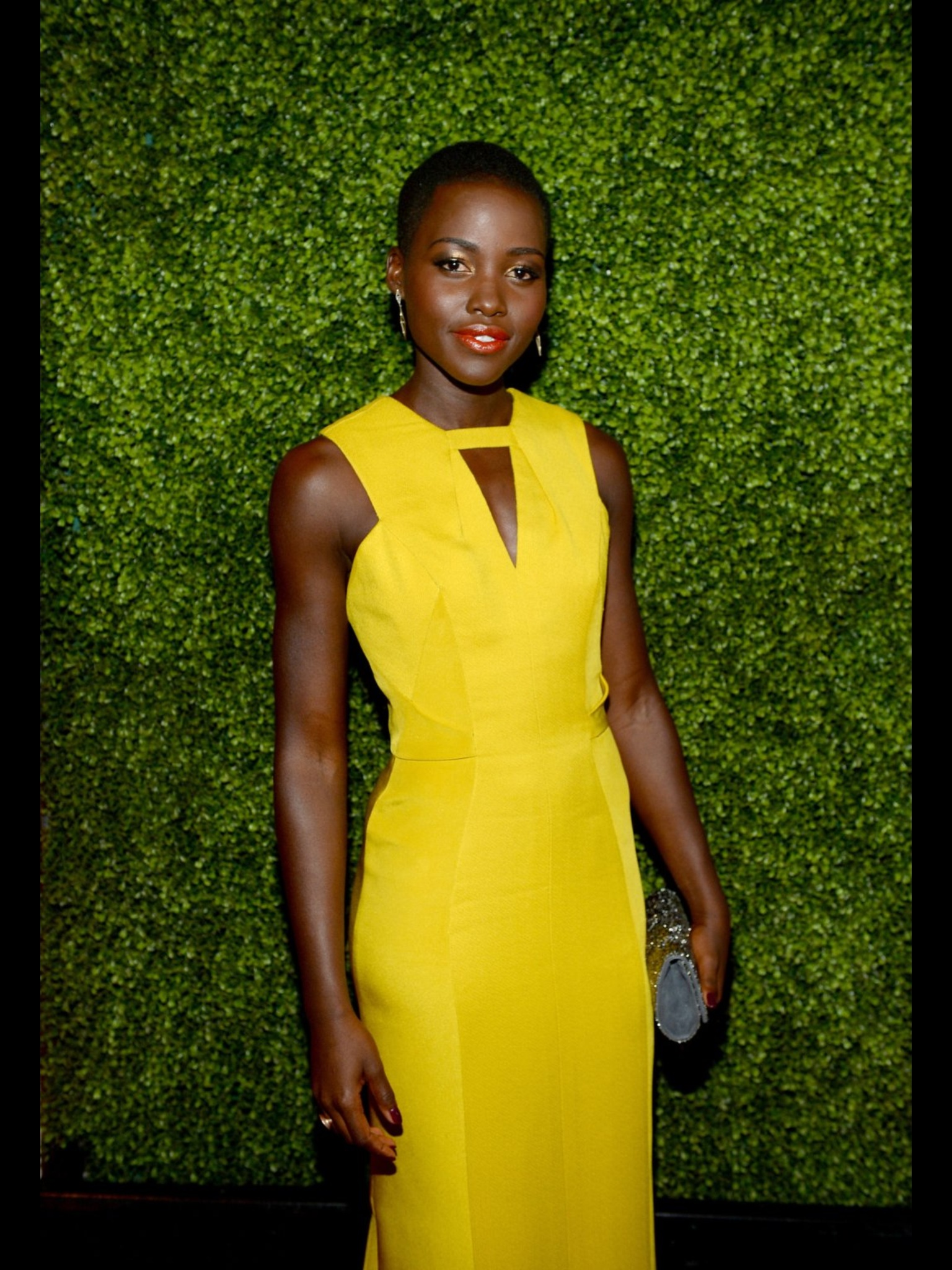 Image result for kenya female celebs in yellow dresses